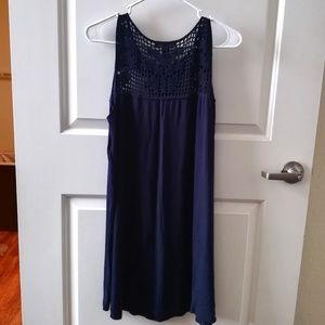 FOREVER 21 Navy Dress (Like New)